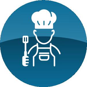 Cozinheira chef
